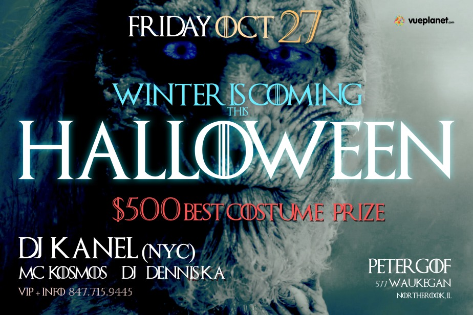 Winter is Coming… to Petergof on Halloween!